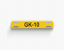 gk 10 cable label