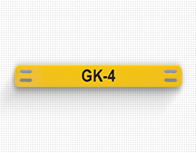 gk 4 cable label