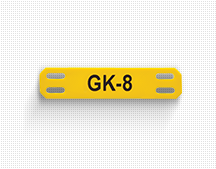 gk 8 cable label